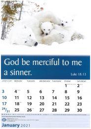 Words Of Life Calendar 2021 - English