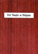 Brief Thoughts on Philippians