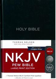 NKJV Bible Pew, Comfort Print