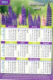 Pocket Calendar 2022, Flowers