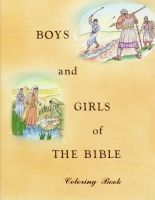Boys and Girls of the Bible - Colouring Book