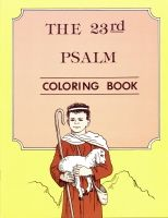 The 23rd Psalm - Colouring Book