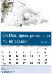Words of Life Calendar 2021 (TBS) - Catalan
