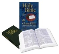 Classic Reference Bible, 4S