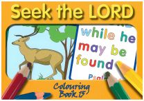 Colouring Book - Seek the Lord