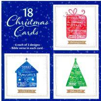 Christmas Card Box of 18 TC40090