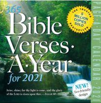 365 Bibel Verses a Year for 2021