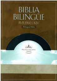 Bilingual Spanish Reina Valera 1960/KJV Bible, Indexed