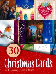 Christmas Card Box of 30 80500.1