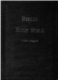 Romanian/English Bible