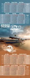 Bookmark Calendar 2021 (Tagalog/English)