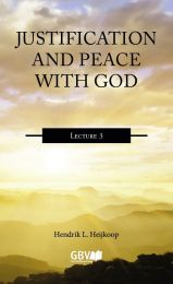 Justification and Peace with God