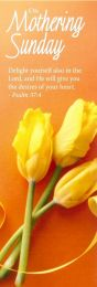 Mothering Sunday Bookmark Delight Yourself