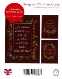 Christmas Card Box of 18 GMC091