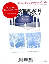 Christmas Card, Box of 18, GMC079