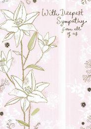 Sympathy Card - PENF0603