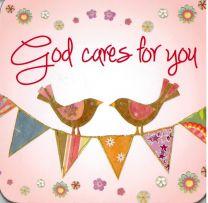 COASTER, GOD CARES FOR YOU, C145