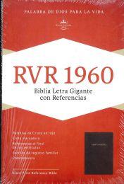 Spanish Reference Bible, Giant Print, Burgundy