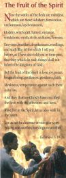 Bookmarks - Fruit of the Spirit (BG04)