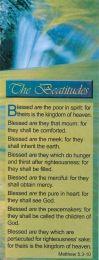 Bookmarks - The Beatitudes (BG05)