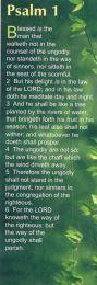 Bookmarks - Psalm 1 (BG09)