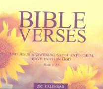 Calendar 2021 Bible Verses