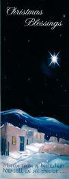 Christmas Cards, O little Town of Bethlehem