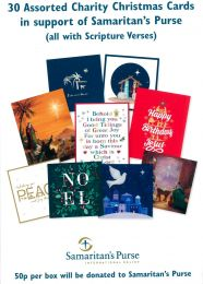 30 Assorted Charity Christmas Cards GMC098