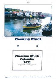 Cheering Words Calendar 2022