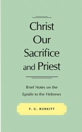 Christ our Sacrifice and Priest