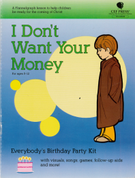 I don't want your Money