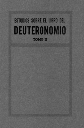 Notes on Deuteronomy, Vol.2