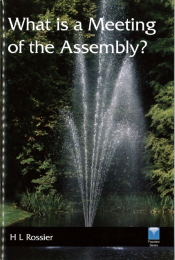 What is a Meeting of the Assembly