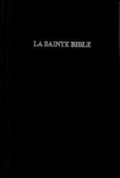 French Bible, Segond, 1046