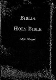 Romanian-English Bible