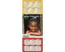 Bookmark Calendar 2020 (Tigrinya)