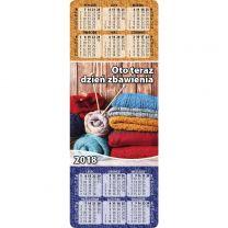 Bookmark Calendar 2020 (Polish)
