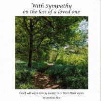 Sympathy Card CV137