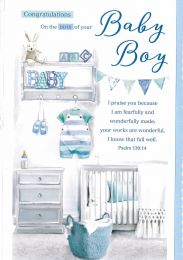 Birth Congratulation Card 144