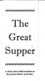 The Great Supper