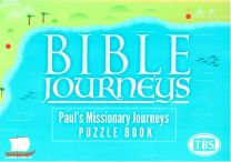 Bible Journeys - Paul's Missionary Journeys Puzzle Book