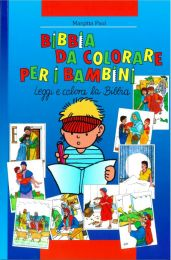 Kids' Bible Colouring Book (Italian)