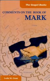 Comments on the Book of Mark