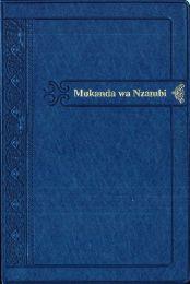 The Holy Bible - Tshiluba