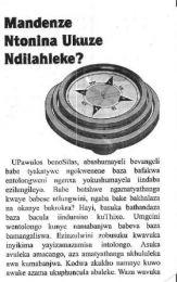 Tract Xhosa