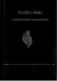 Czech Study Bible Preklad 21