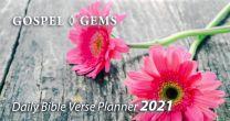 Gospel Gems Planner 2021 (Flower)