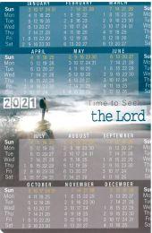 Pocket Calendar 2021