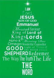 Christmas Cards, Green Tree, E1920