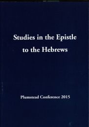 Studies in the Epistle to the Hebrews 2015